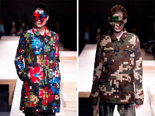 Pixel Fashion by Kunihiko Morinaga for Anrealage in style fashion main  Category