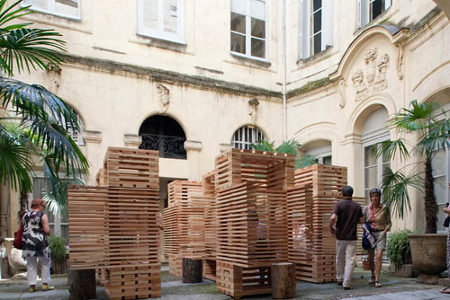 2011 Festival des Architectures Vives in main art architecture  Category