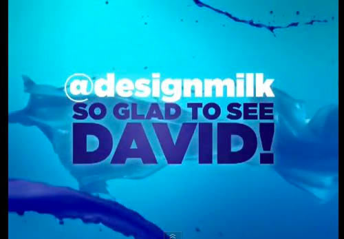 Design Milk Mentioned on TV!