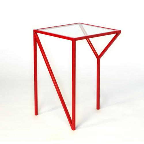 Lovely Faktura Design known for its skinny metal furniture has two fun tables paying homage to two great US cities NY and LA