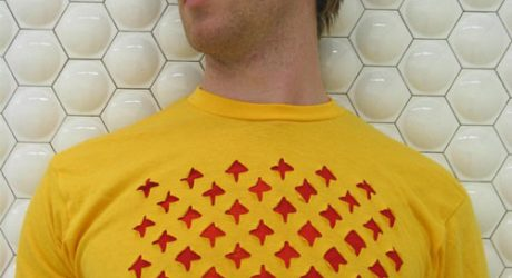 Perf Laser Cut T-Shirts