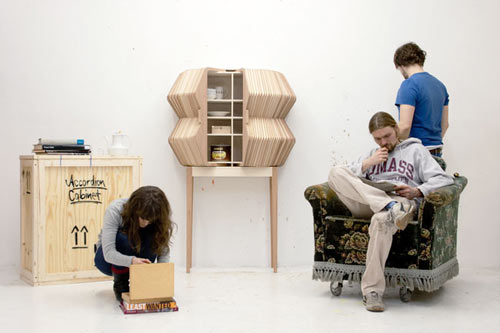 Accordion Cabinet by Elisa Strozyk and Sebastian Neeb in main home furnishings  Category