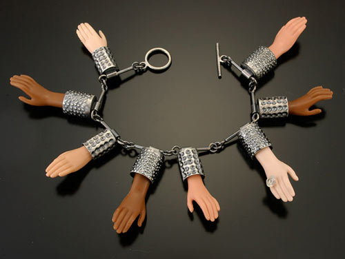 Deconstructed Barbie Jewelry by Margaux Lange