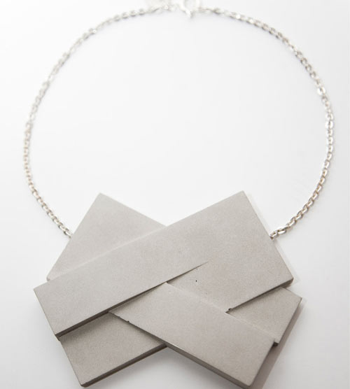 Concrete Jewelry by Bergner Schmidt Concrete Jewelry by Bergner