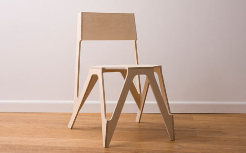 Bone Chair by JDS Architects in home furnishings  Category