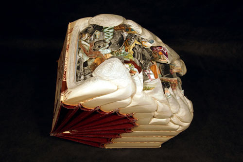 Altered Books by Brian Dettmer