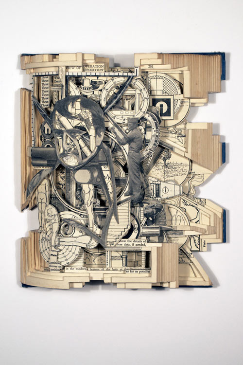 Altered Books by Brian Dettmer in main art  Category