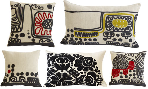 New Pillows by De La Espada