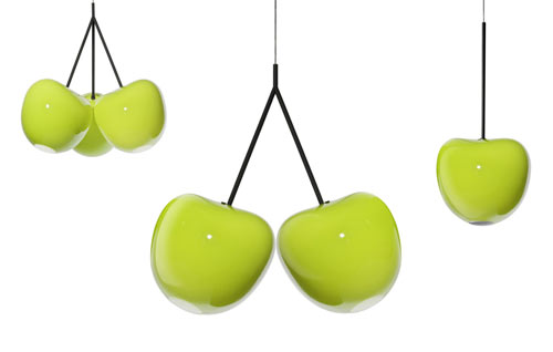 Cherries Lamp by Nika Zupanc in home furnishings  Category