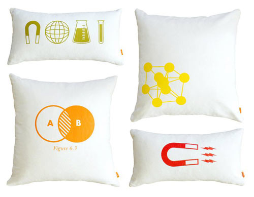 Graphic Pillows from Gus*Modern