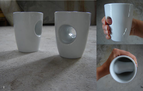 Tea and Coffee Ceramics by Eszter Imre