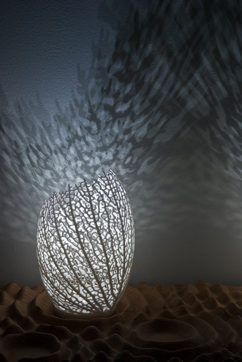 Hyphae Lamp by Nervous System in main home furnishings  Category