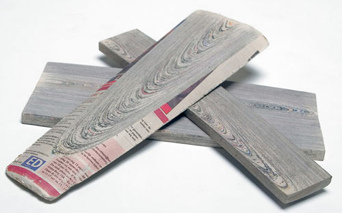 NewspaperWood by Vij5 and Mieke Meijer