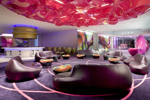 nhow Berlin Hotel in main interior design architecture  Category