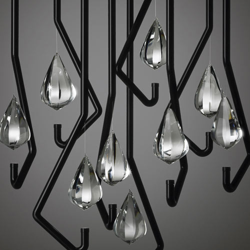 One Crystal Chandelier by Thomas Feichtner