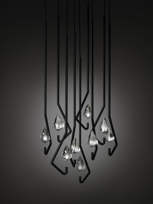 One Crystal Chandelier by Thomas Feichtner in main home furnishings  Category