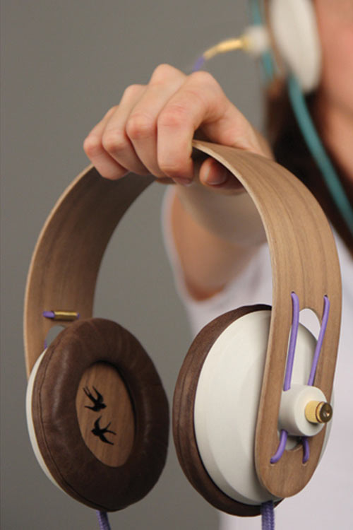 Plug it in! Headphones by Dorien van Heijst in technology style fashion  Category
