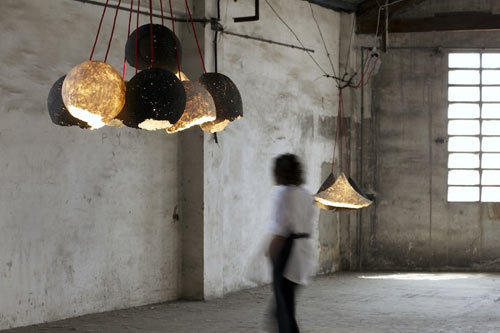 Pulp Lamps