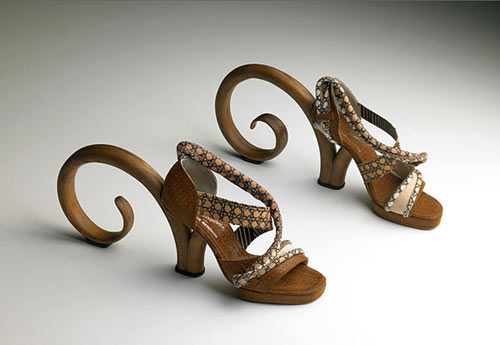 Thonet Shoes by Pablo Reinoso
