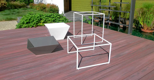 Haskells New Trapa Planters in interior design  Category