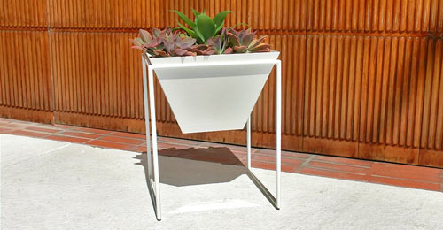 Haskells New Trapa Planters in main interior design  Category