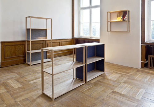 Victor Bookshelves by Daniel Becker in main home furnishings  Category