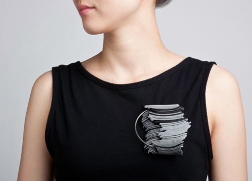 Velcro Jewelry by Yong Joo Kim