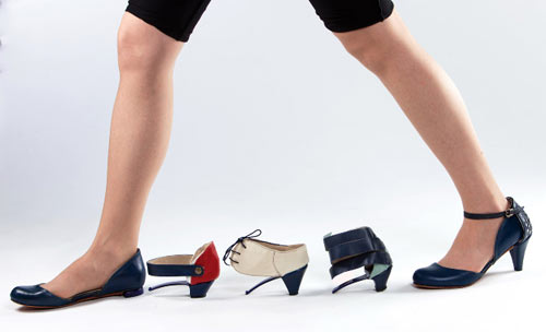 ZE O ZE Modular Shoes by Daniela Bekerman