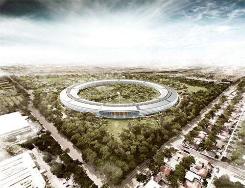 Apple's New Campus Plans