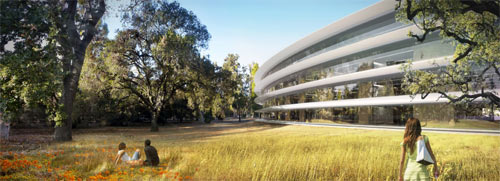 Apples New Campus Plans in architecture  Category