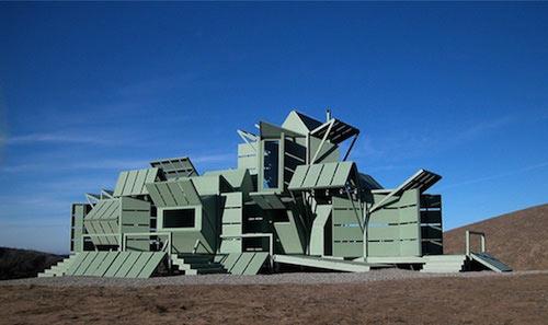 The Flexible/Relocatable House by Michael Jantzen