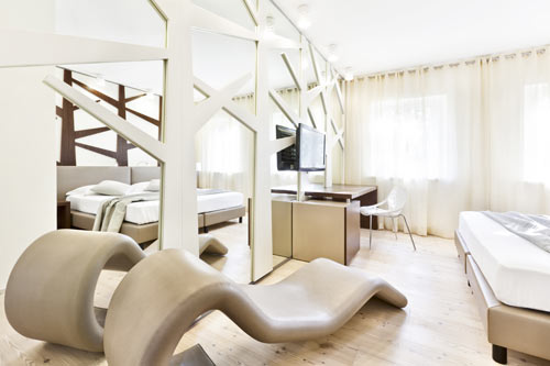Ai Cadelach Hotel by Daniele Menichini in main interior design architecture  Category