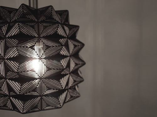 Aiguille Lamp by AMINIMAL Studio