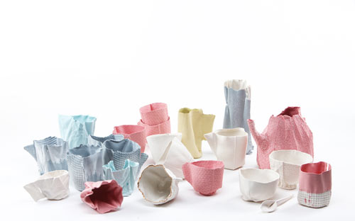 Alice Porcelain Tableware by Rachel Boxnboim