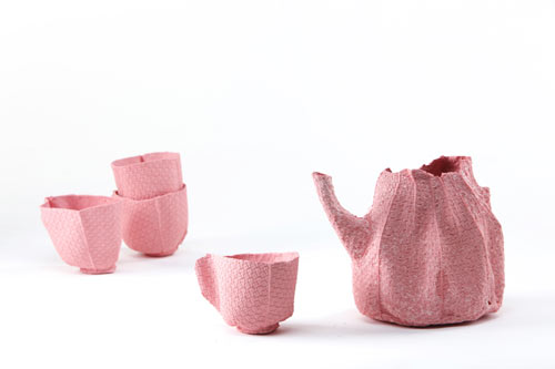 Alice Porcelain Tableware by Rachel Boxnboim