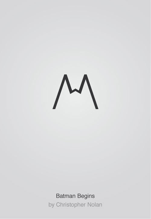 Minimalist Typography Poster Series by Patrik Svensson in main art  Category
