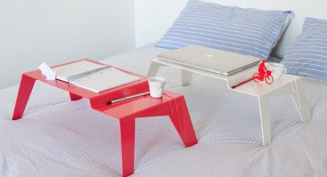 Bravo Tray Table by Lamidea