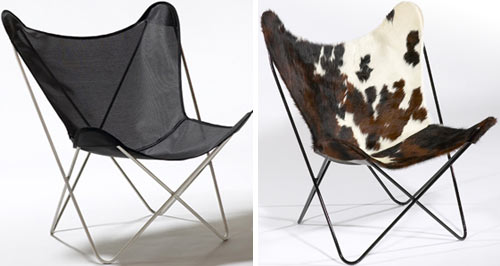 butterfly chairs from circa50 design milk. Black Bedroom Furniture Sets. Home Design Ideas