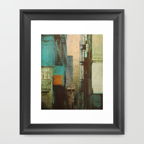 escape-route-print-framed