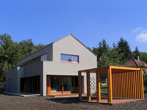 House in Budakeszi by Tamás Mórocz in architecture  Category