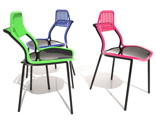 Fauchon Chair by Mahdi Naim