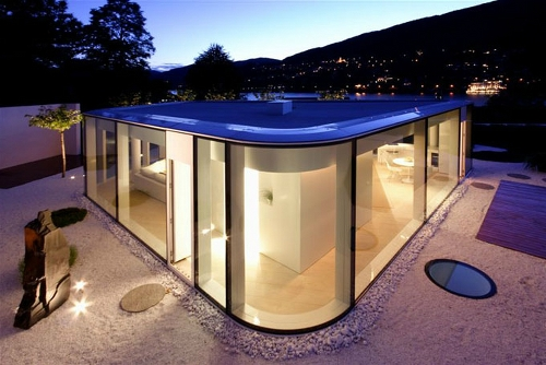 Skim Milk: Lake Lugano House by JM Architecture