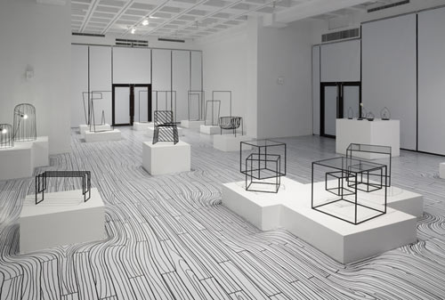 nendo-exhibition-black-white-2