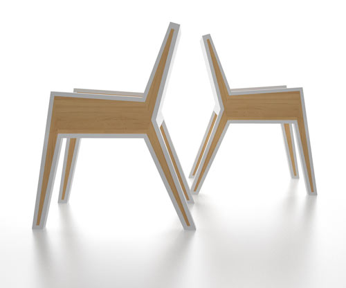 Outline Chair by Michael Samoriz