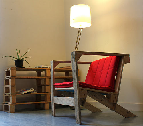 Pallet Chair by Pierre Vedel