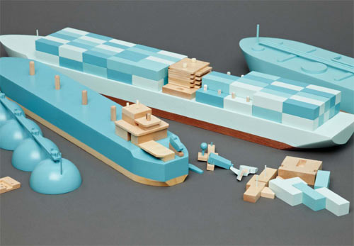 Ship Toys from Papa Foxtrot