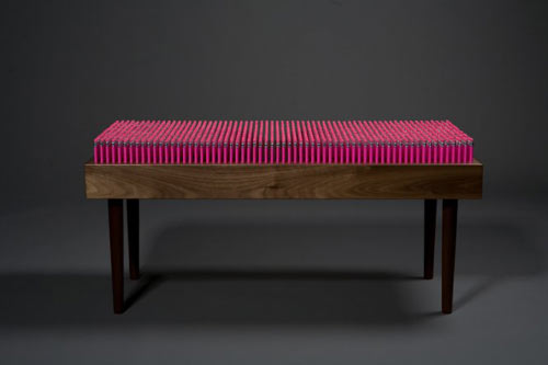 Pencil Bench by Boex