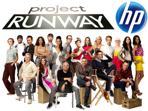 The HP Project Runway Challenge in technology style fashion  Category