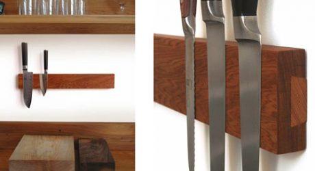Puukko: A Simple Knife Rack