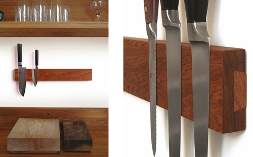 Puukko: A Simple Knife Rack